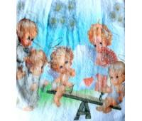 Простынь детская из микро фибры