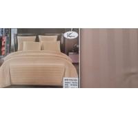 сатин страйп двухспальное (простынь на резинке)