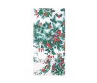 Кухонное полотенце лен новогодние
