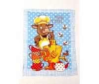 Кухонное полотенце вафельное