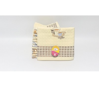 P0425 Кухонное вафельное полотенце