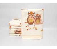 Банное полотенце лен+махра