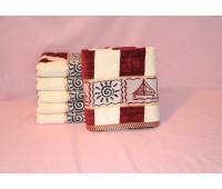 Велюровое лицевое полотенце (Турция)