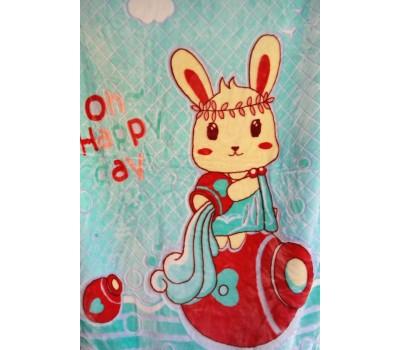 O114 Одеяло флисовое детское