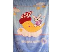 Одеяло флисовое детское