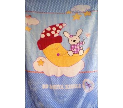 O111 Одеяло флисовое детское
